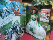 VINTAGE MATTEL BARBIE DOLL - SCARLETT O'HARA - HOLLYWOOD LEGENDS COLLECTION