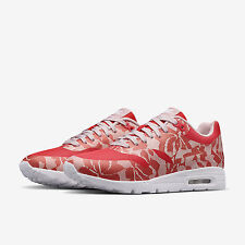 Nike Lab Lace Air Max 1 Ultra Womens Trainers Shoes UK 5.5 EUR 39 Red White