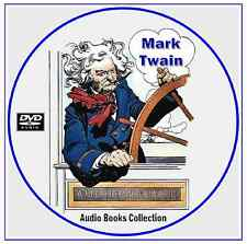 MARK TWAIN ~ 40 Audio Books - Classic Literature Collection on 2 Mp3 DVD CD's