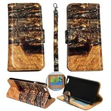 For Iphone 6S (4.7) Ck Wallet Camo Tail Deer Cone Cover Case Uni Split Leather