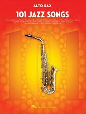 101 Jazz Songs for Alto Sax Instrumental Solo Book NEW 000146366