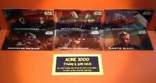 Topps Widevision Star Wars Episode 1 Series 2 Embossed Card Set Of 6
