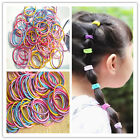Hot Cute 100Pcs Baby Kids Girl Elastic Hair Bands Ponytail Holder Head Rope Ties