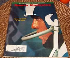 Sports Illustrated  December 7 1970 Roman Gabriel