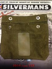BRITISH ARMY/Navy Canvas Pay Wallet. Circa 1960/70s. rare