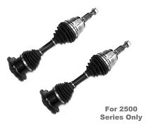 2 New DTA Front CV Axles Left/Right OE Rep Fits GMC Seirra 1500HD,2500, 3500
