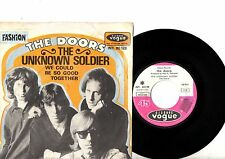 DOORS 7' PS Unknown Soldier France INT. 80 128 VERY RARE VOGUE French cover 45