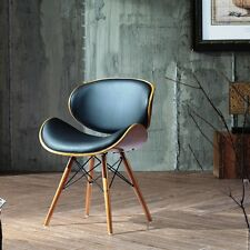 Funky Chair Vintage Danish Style Mid Century Modern 30-in Danish Accent Design
