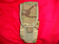 British Army Osprey MK4 SA80 2 / Double Magazine Pouch - MTP - GRADE 2 - GENUINE