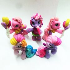 5x Lot My Little Pony 2008 Pinkie Pie Ponyville Pony Party Figure Girl Toy Gift