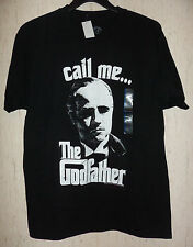 "NWT MENS ""call me ... The Godfather"" BLACK NOVELTY T-SHIRT SIZE L"