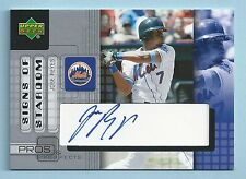 JOSE REYES 2005 UD PROS & PROSPECTS SIGNS OF STARDOM AUTOGRAPH AUTO