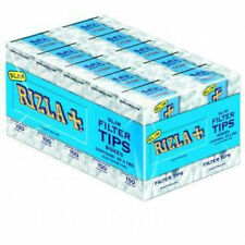 Rizla Filter Tips Slimline Full Box Of 10 Packets