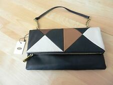 Fossil Patchwork Leather Multi Clutch MSRP $148