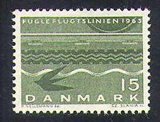 Denmark 1963 Bird-flight Line/Railway/Rail/Transport/Birds/Trains 1v (n37380)