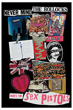 The Sex Pistols *Never Mind the Bollocks * Promo Poster 1977 Large Format  24x36