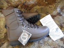 BRITISH ALTBERG ALT-BERG original MTP PCS BROWN DEFENDER COMBAT HI BOOTS 8 L NEW