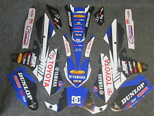 Yamaha YZF250 YZF450 2014-2016 Yamaha JGR Team graphics kit + plastic set GR1021
