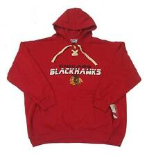 New NHL Chicago Blackhawks Hoodie Sweatshirt Big and Tall 3XL Red Men's