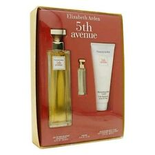 5th Avenue Perfume by Elizabeth Arden, 3 Piece Gift Set for Women NEW