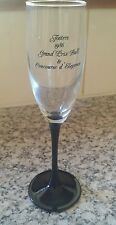 VINTAGE RARE COLLECTABLE FOSTERS 1986 AUSTRALIAN GRAND PRIX BALL CHAMPAGNE GLASS