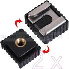 """2x Universal 1/4"""" Screw Hole Cold Foot to Hot Shoe Mount Adapter for Nikon Flash"""