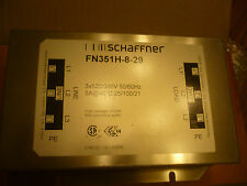 New Schaffner FN351H-8-29 FN351H829 High Power Filter, 8 A, Three Phase