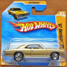 HotWheels Cars (2010) '67 Chevelle SS 396 1:64 NEW