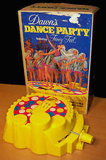 Vintage 1971 Topper Dawn's Dance Party in Original Box w/ Instructions - Works