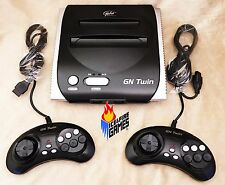 New Yobo GN Twin - Plays 8-bit Nintendo NES & 16-bit SEGA Genesis Games - BLACK