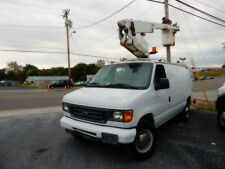 2003 FORD E350 BUCKET VAN IN WORKING CONDITION, ALTEC BOOM, NEEDS COSMETIC TLC