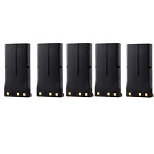 5 X 1200mAh Battery for KENWOOD KNB-15 TK378G TK270G TK3101 TK3102 TK388 TK272G