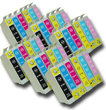36 T0791-T0796 'Owl' Ink Cartridges Compatible Non-OEM Epson Stylus PX830FWD