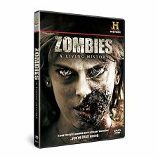 Zombies - A Living History (New DVD) Historical look at The Living Dead