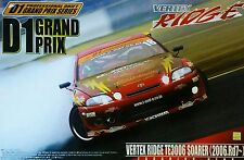 Aoshima 1/24 Scale Vertex Ridge TE3006 Soarer (2006. Rd7) D1 Grand Prix Series.