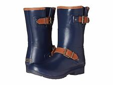 NEW SPERRY TOP SIDER  WALKER FOG NAVY RUBBER BOOTS 12 M