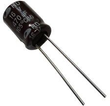 10x Condensateur électrolytique chimique 470µF 16V THT 1000h Ø8x11.5mm radial