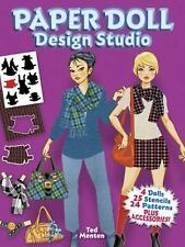 Paper Doll Design Studio by Ted Menten (2013, Paperback)