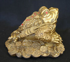 Feng Shui Brass Money Frog