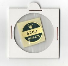 6262 ROLEX Sticker Caseback VINTAGE 1960's OEM New Old Stock DAYTONA PAUL NEWMAN
