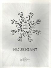 ▬► PUBLICITE ADVERTISING AD PARFUM PERFUME HOUBIGANT Chantilly 1952