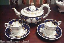 1850's part tea set probably made by Spode, England, # 262