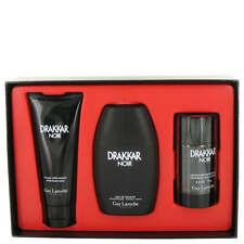 Drakkar Noir Cologne by Guy Laroche 3 Piece Gift Set for Men NEW IN BOX