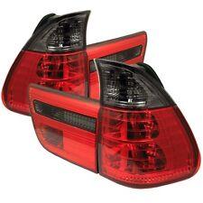 Spyder Auto BMW E53 X5 00-06 4PCS Tail Lights - Red Smoke ALT-YD-BE5300-RS