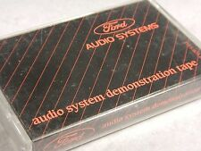 Ford Audio Systems Demonstration Tape - 1987 Ford Cassette - LORAN