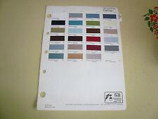1981 International Harvester IH R-M Color Chip Paint Sample