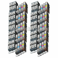 60 PACK PGI-220 CLI-221 Ink Tank for Canon Printer Pixma MX860 MX870 MP560