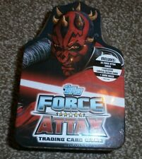 Topps Star Wars Force Attax Series 3 - Trading Card Game in Tin - Darth Maul