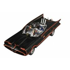MATTEL DJJ39 BATMAN CLASSIC TV BATMOBILE model car Batman & Robin figures 1:18th