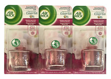 "(19,12€/100ml) 3x Airwick Duftstecker Nachfüller "" Smooth Satin & Moon Lily """